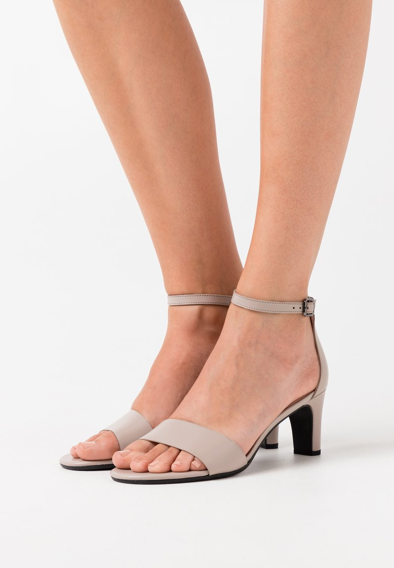 ECCO - SHAPE SLEEK - Sandals - grey rose zennor