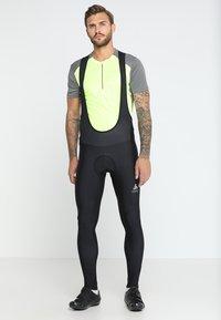 ODLO - SUSPENDERS BREEZE LIGHT - Leggings - black - 0