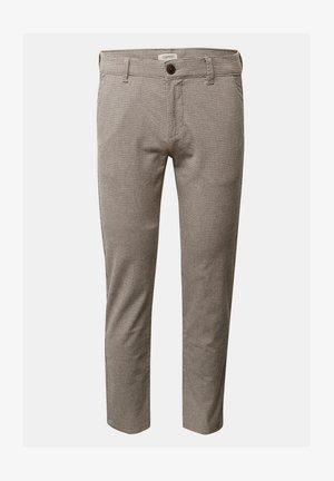 Chinos - brown grey