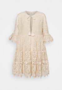River Island - LUXE SMOCK - Cocktail dress / Party dress - offwhite - 4