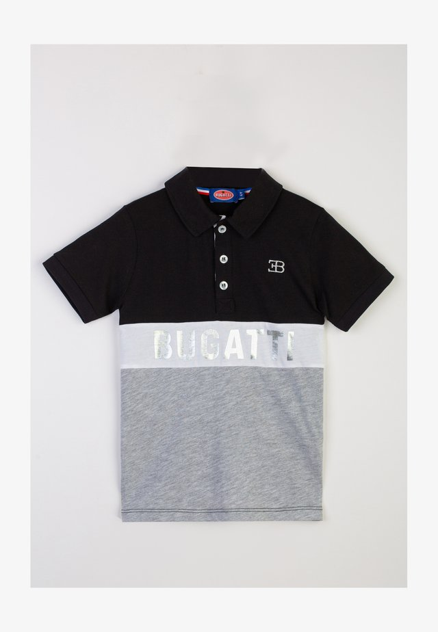 Polo - black, light grey