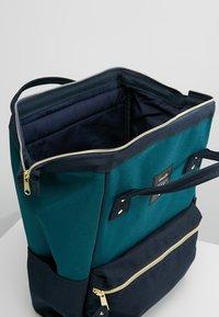 anello - STANDARD TOTE PATCH LOGO UNISEX - Batoh - blue/navy - 4