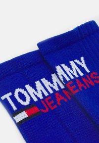 Tommy Jeans - VINTAGE CUT SOCKS 2 PACK UNISEX - Ponožky - dark blue - 0