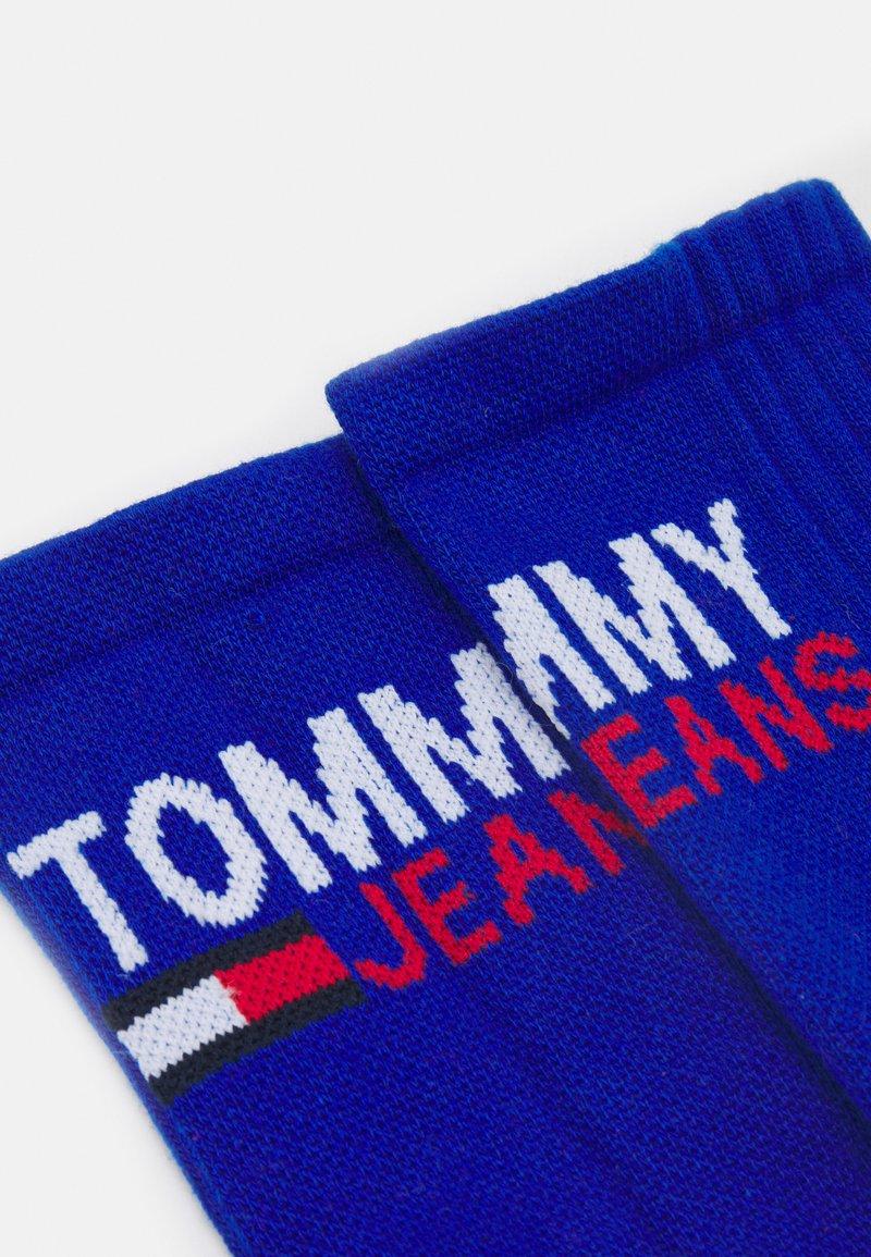 Tommy Jeans - VINTAGE CUT SOCKS 2 PACK UNISEX - Ponožky - dark blue