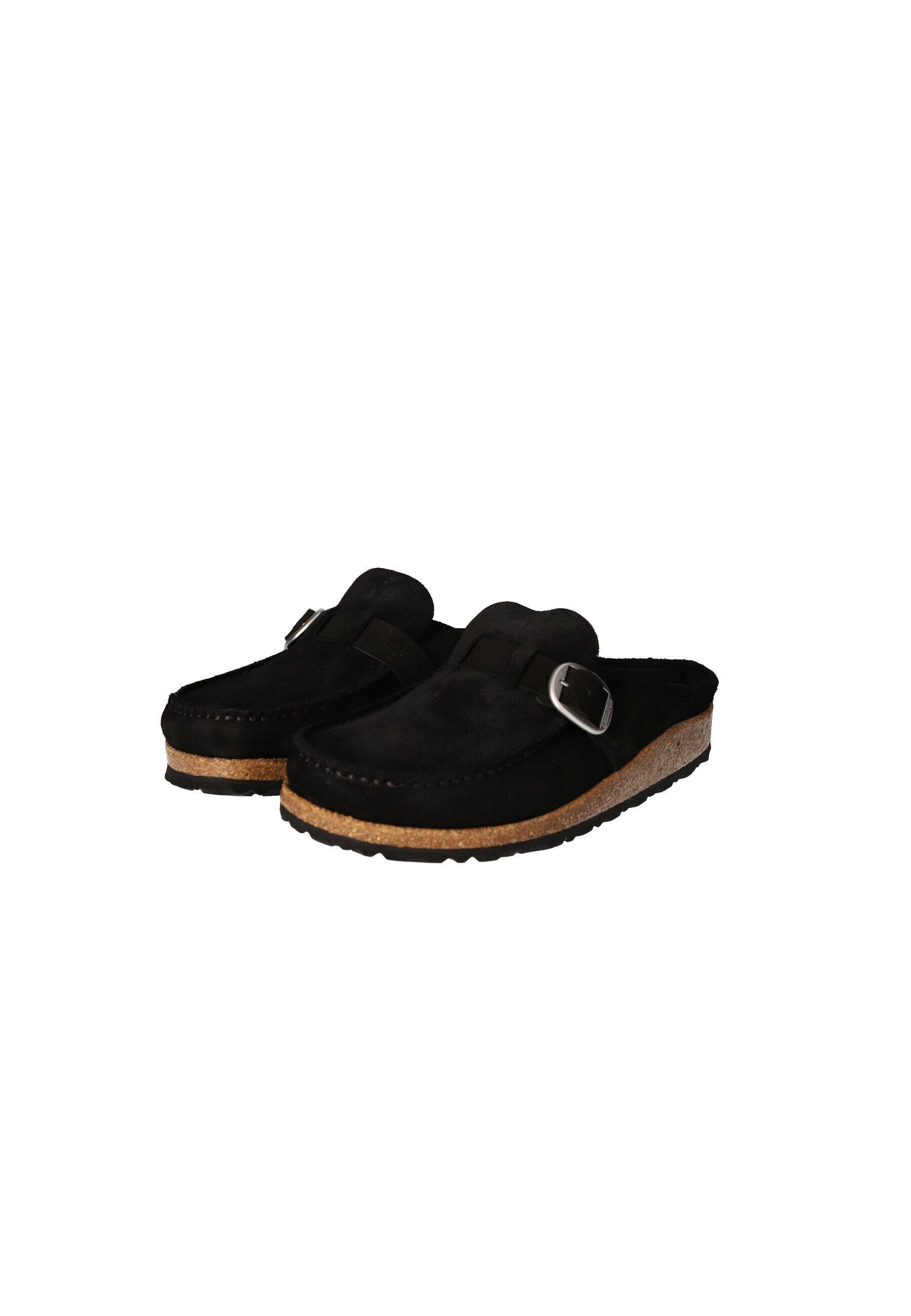 Birkenstock Clogs black/schwarz