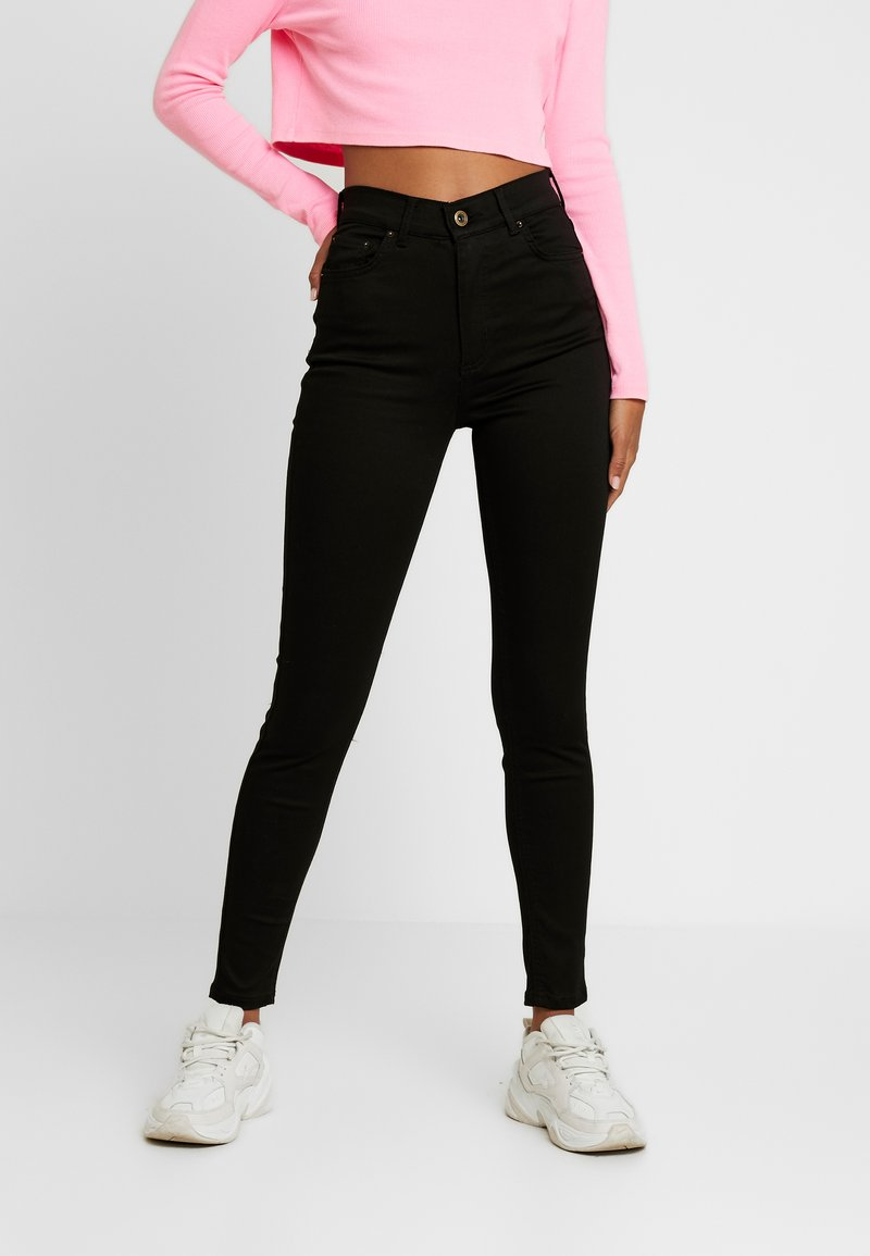 Pieces - PCNORA STAY - Slim fit jeans - black