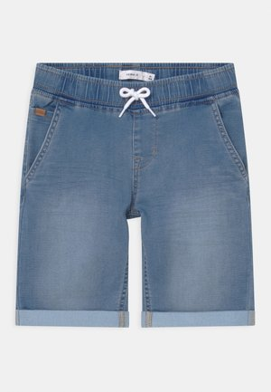 NKMRYAN - Szorty jeansowe - light blue denim