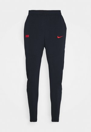FRANKREICH FFF PANT - National team wear - dark obsidian/university red