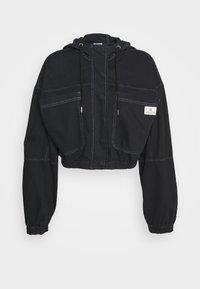 BDG Urban Outfitters - JARED HOODED JACKET - Cowboyjakker - black - 0