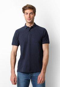 Scalpers - Polo shirt - navy - 0