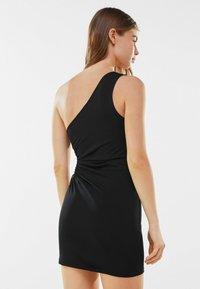 Bershka - Jersey dress - black - 2