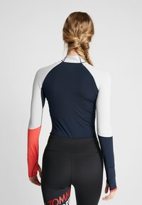 Tommy Hilfiger - TRAIN WARM BODYSUIT - Body sportivo - blue - 2