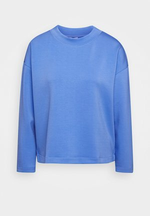CREW NECK - Long sleeved top - sea blue