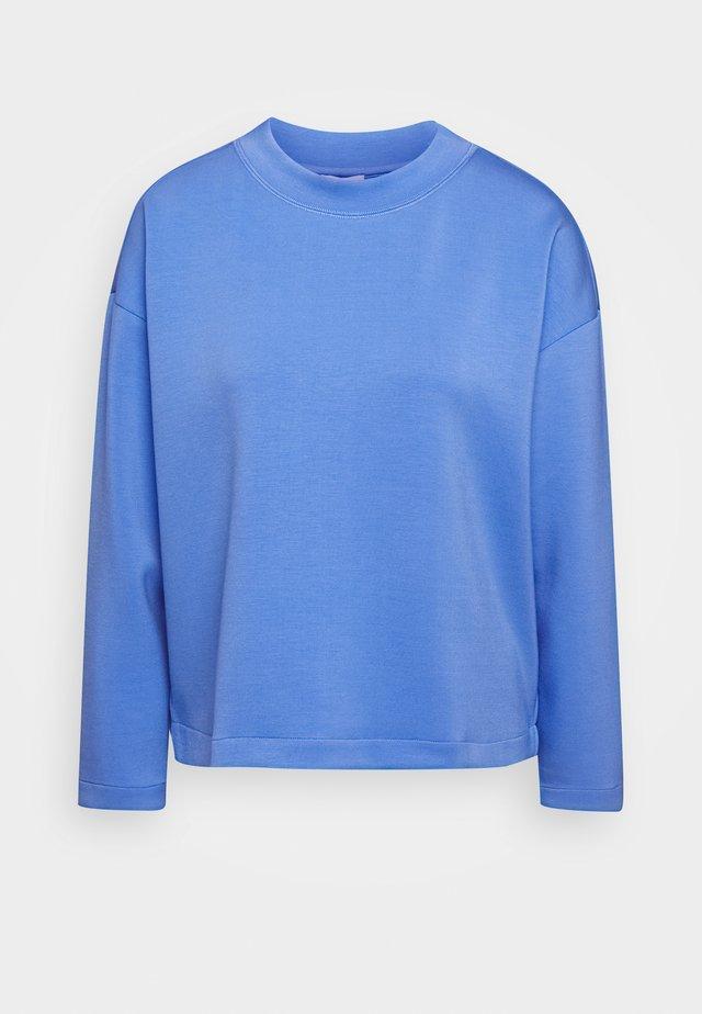 CREW NECK - Topper langermet - sea blue