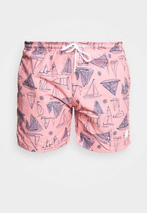 PATTERNSWIM - Swimming shorts - pink