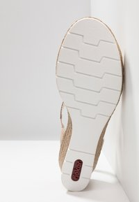 Rieker - Sandály na platformě - rosa/altrosa - 6