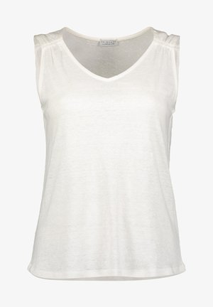 Top - wool white