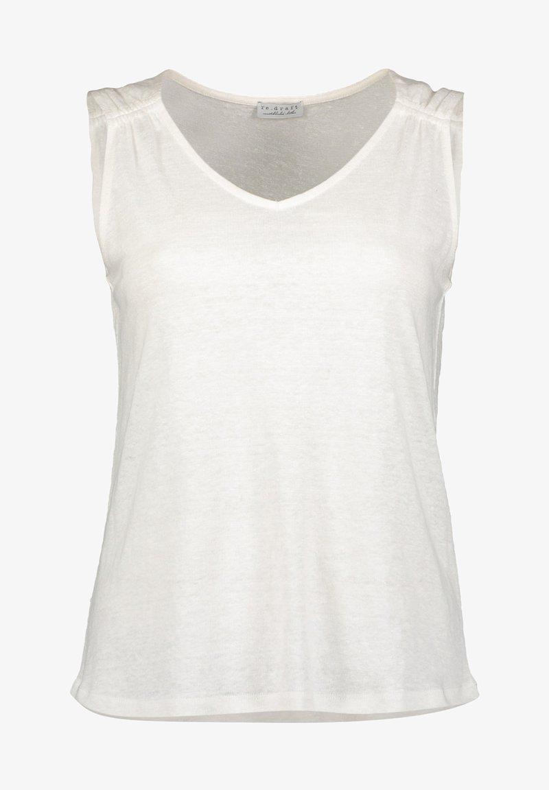 Re.draft - Top - wool white