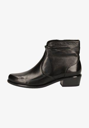 Ankle boots - black soft nap
