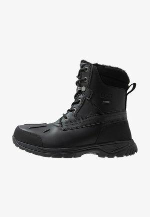FELTON - Lace-up ankle boots - black