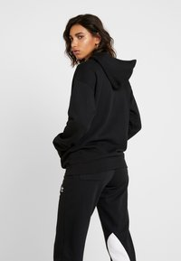 adidas Originals - ADICOLOR TREFOIL ORIGINALS HODDIE - Mikina s kapucí - black/white - 2