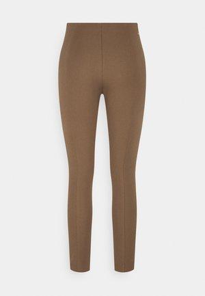 GABARDINE SKINNY - Leggings - Trousers - highland khaki