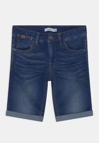 Name it - NKMSOFUS - Short en jean - dark blue denim - 0
