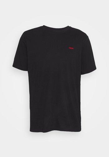 DERO - Camiseta básica - black