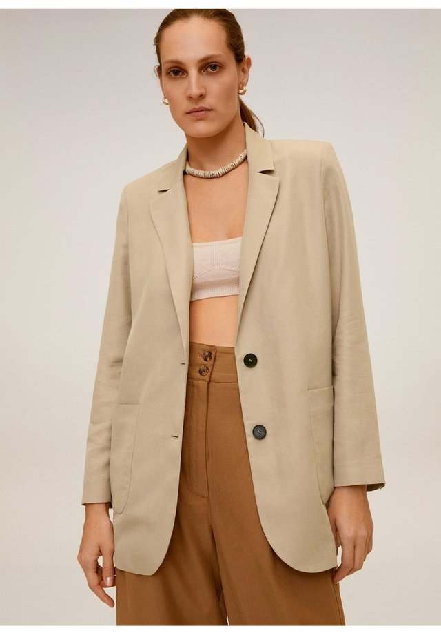 BOMBAY - Short coat - beige