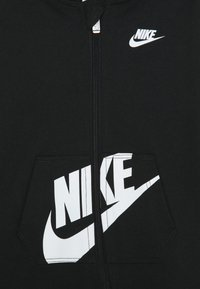 Nike Sportswear - HOODED BABY COVERALL UNISEX - Tuta jumpsuit - black - 2