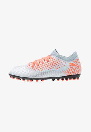 FUTURE 4.4 MG - Moulded stud football boots - glacial blue/nrgy red/high risk red