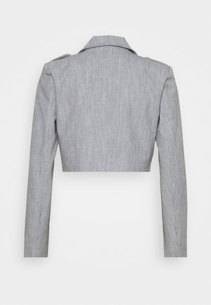 RAFFI CROPPED BLAZER - Blazere - grey