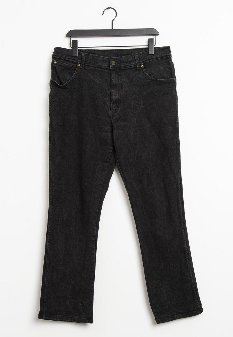 Wrangler - Straight leg jeans - black