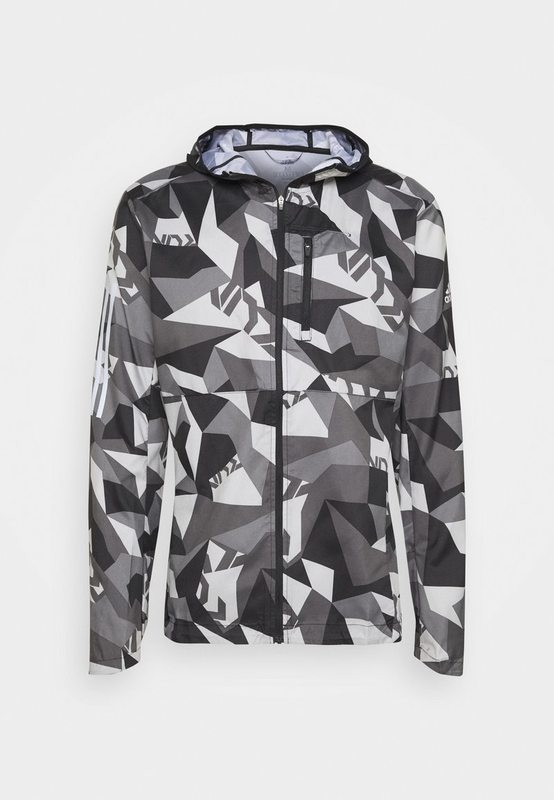 adidas Performance - OWN THE RUN - Sports jacket - metgry/grefou/black