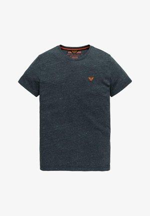 INJECTED YARN-DYE  - Basic T-shirt - dark blue
