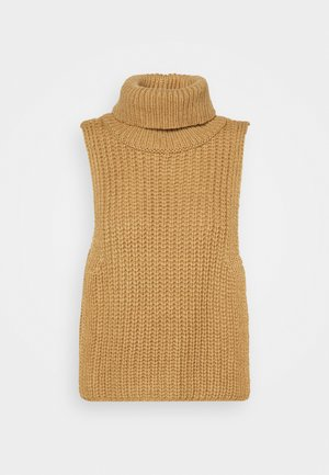 TURTLENECK DICKIE - Jumper - beige