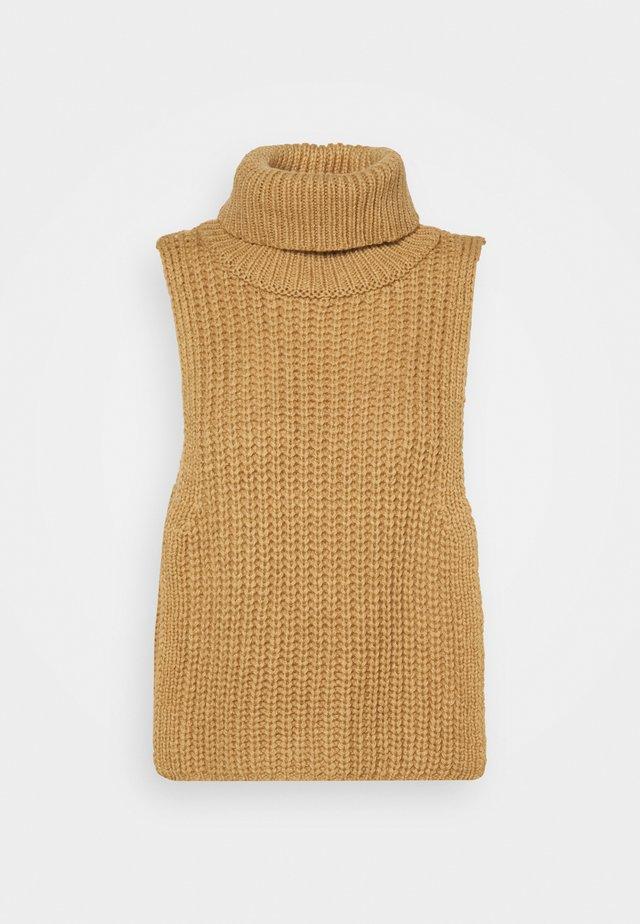 TURTLENECK DICKIE - Pullover - beige