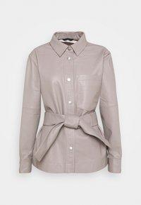InWear - OANNAIW - Leather jacket - ash grey - 0