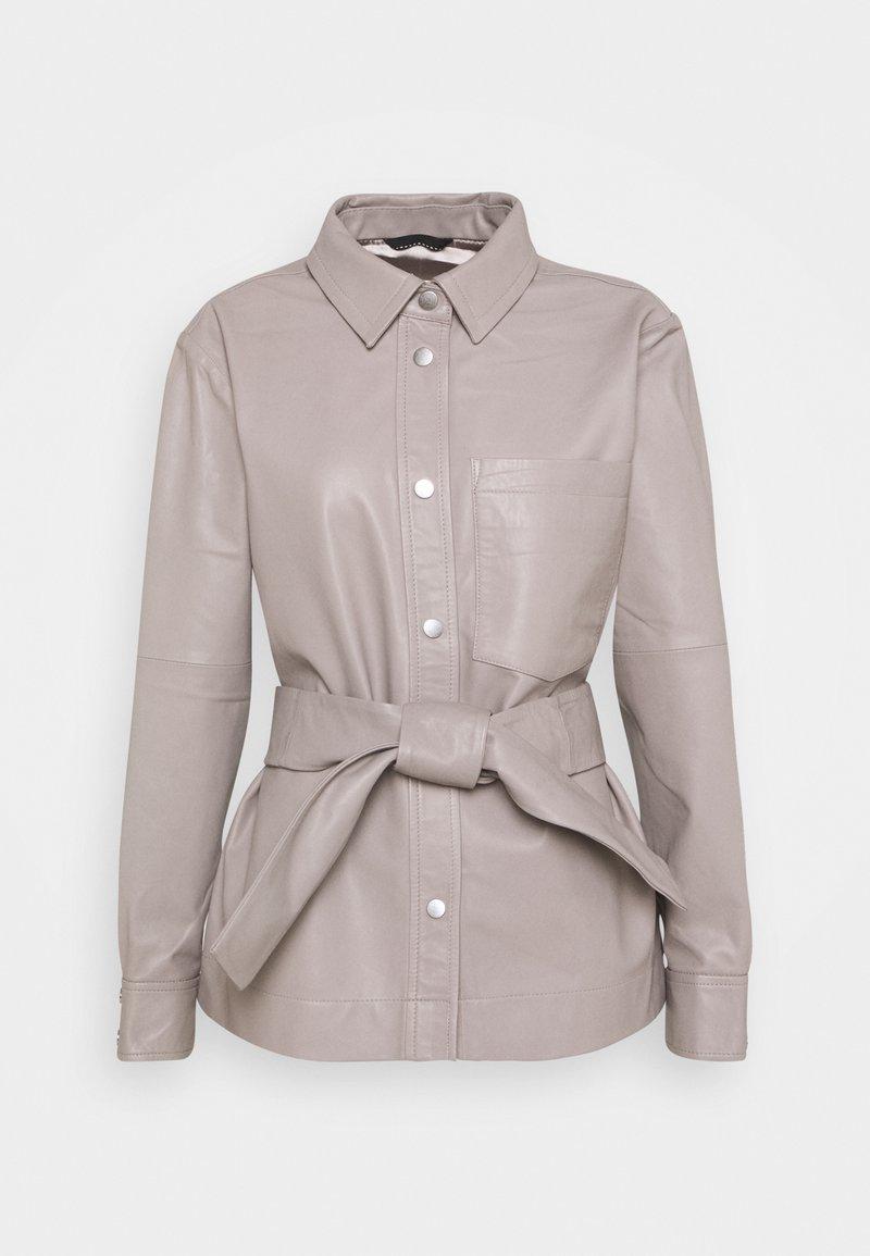 InWear - OANNAIW - Leather jacket - ash grey