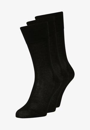 TIAGO  3 PACK - Sokken - schwarz