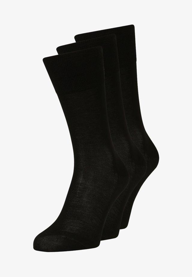 TIAGO  3 PACK - Socks - schwarz