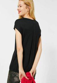 Street One - Print T-shirt - schwarz - 1
