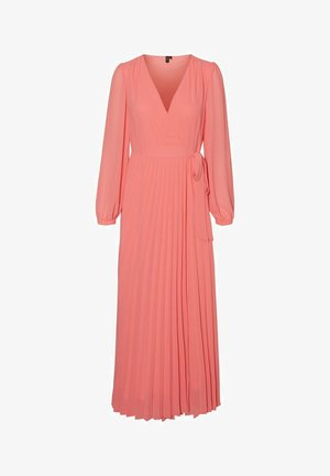 VMLAUREN WRAP DRESS - Cocktailkleid/festliches Kleid - tea rose