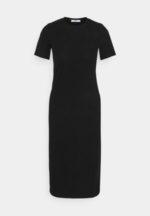 ONLZOE MIDI DRESS  - Strikket kjole - black