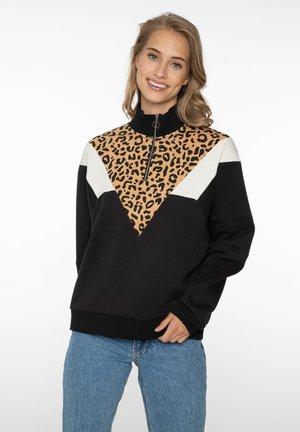 MALEO - Sweatshirt - true black