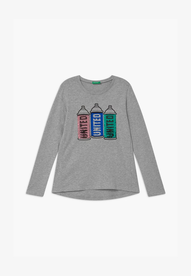 FUNZIONE GIRL - Long sleeved top - GREY