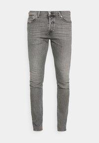 Diesel - D-LUSTER - Slim fit jeans - grey denim - 5