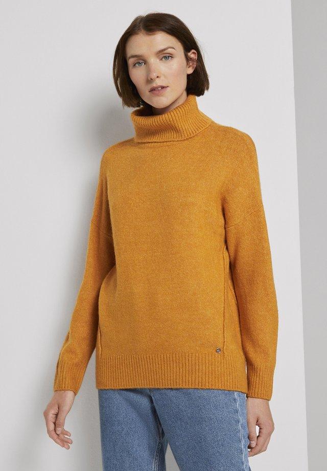 Jumper - orange yellow melange