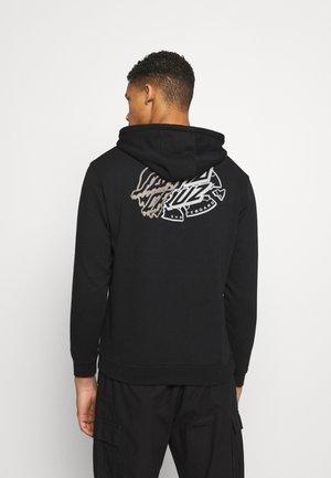 UNISEX UNIVERSAL DOT HOOD - Sweatshirt - black