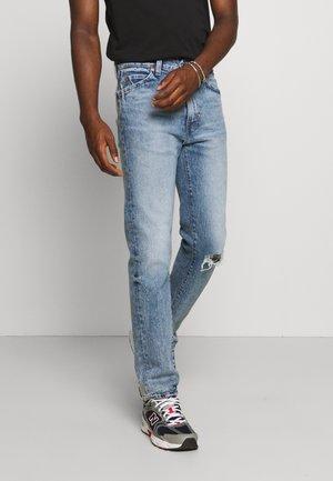 SO HIGH SLIM - Jeans straight leg - light blue denim